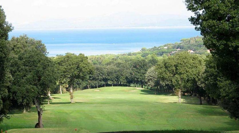 Nemus Genius Loci: Golf panorama
